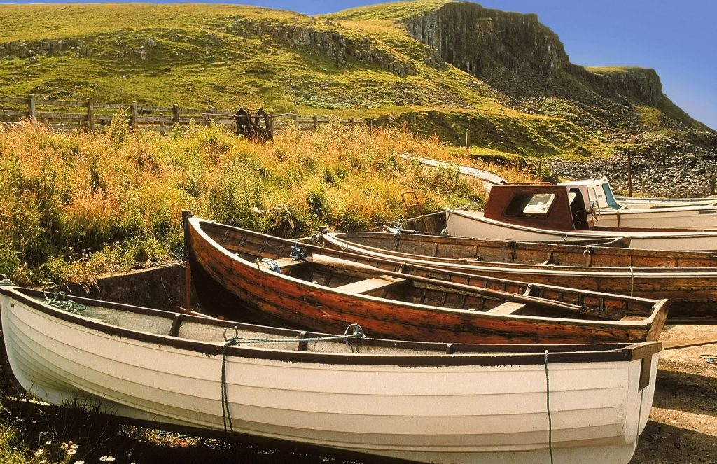 Staffin Bay Holiday homes, Sorley's House is close to the most splendid views on the island
